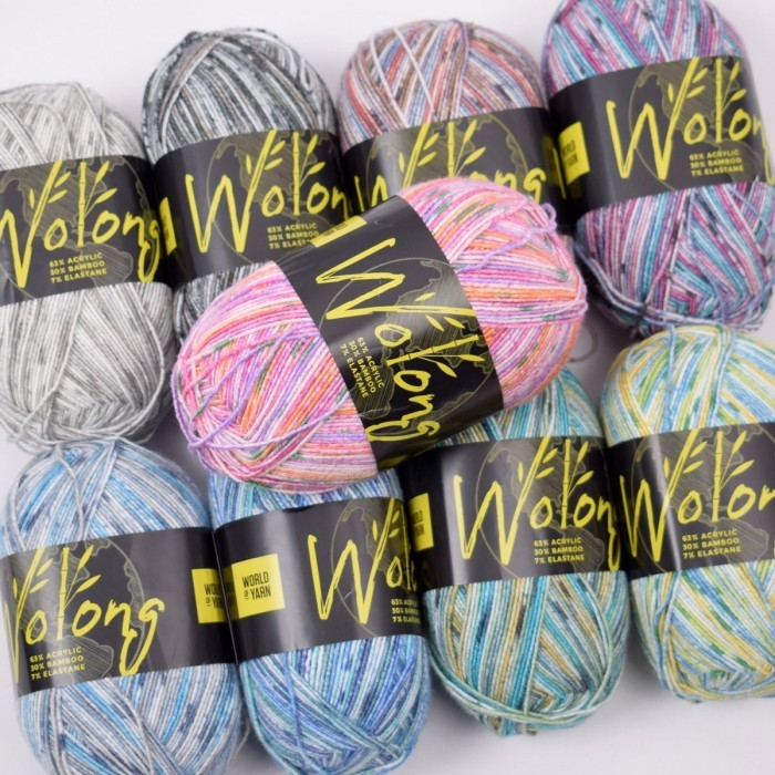 Wolong Strumpfgarn Garn & Wolle World of Yarn