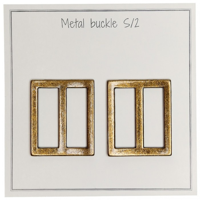 Metal Buckle 31 x 28 mm - several colors Accessories for bags Go Handmade