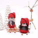 Crocheted Elf Couple Patterns Hobbii