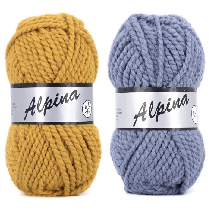 Alpina 8 | Yarn | Lammy garn | Color - Hobbii.co.uk