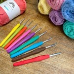 Set de crochets Easy Touch - 9 tailles (2-6 mm) Crochets Hobbii
