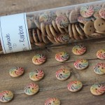 Rainbow Buttons - 15 mm Accessories Go Handmade