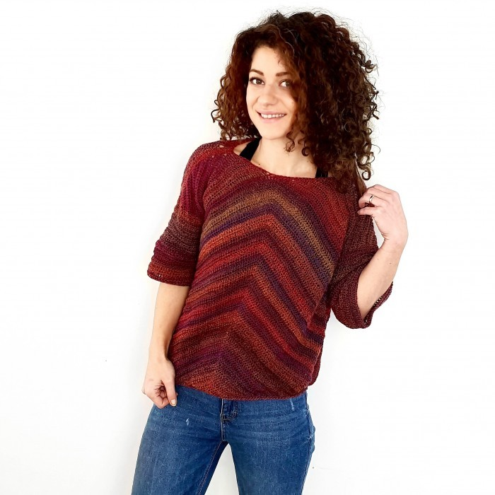 Arrow - Cropped Sweater Opskrifter