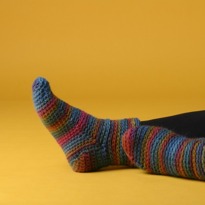 Glomma - Crocheted Socks Free Patterns