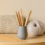 Needle Vase Things you can't live without Copenhagen Fibers