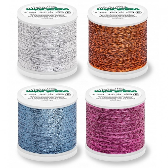 Metallic Thread Fils Madeira