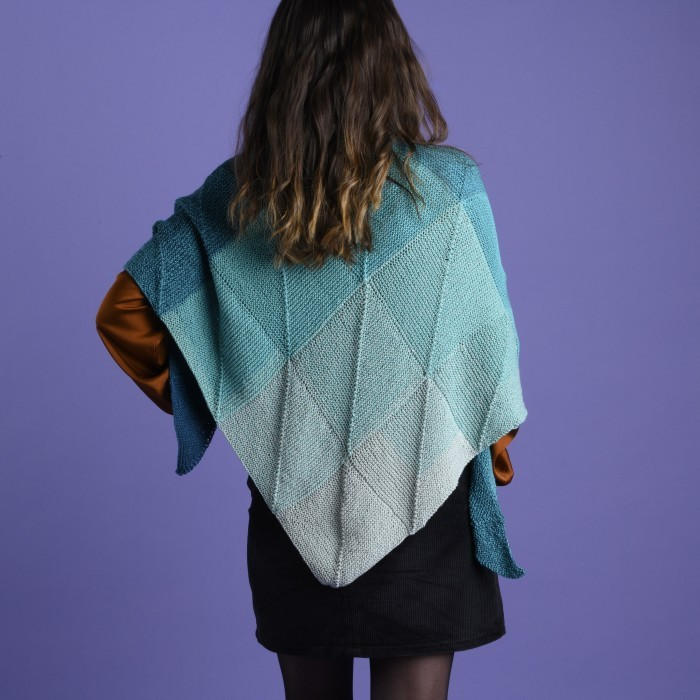 Emerald - Domino Shawl Patterns