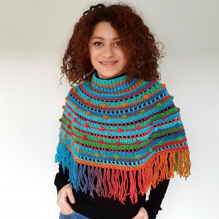 Fandango Bobble Cape Patterns