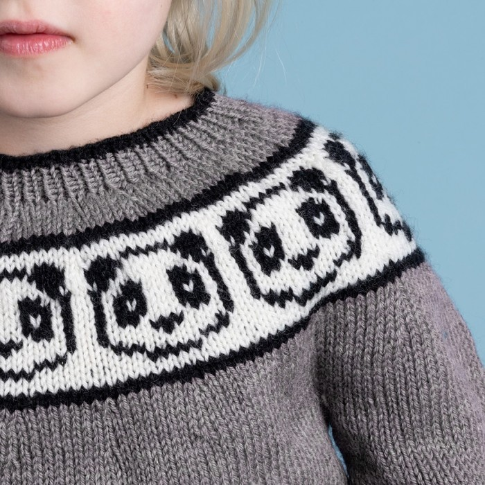 Panda Sweater Patterns