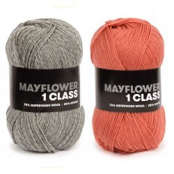 1 Class Sock Yarn Yarn Mayflower
