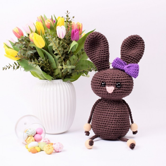 Easter Bunny Flora - Large Patterns