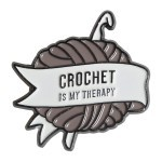 Pin - Crochet is my therapy Go Handmade Go Handmade
