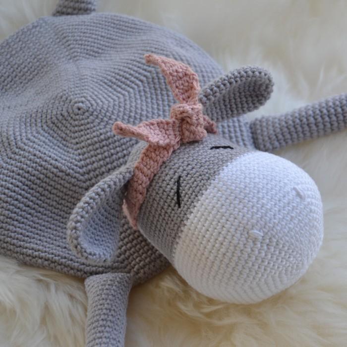 Teddy Bear Baby Lovey Crochet Free Pattern - Crochet & Knitting | 700x700
