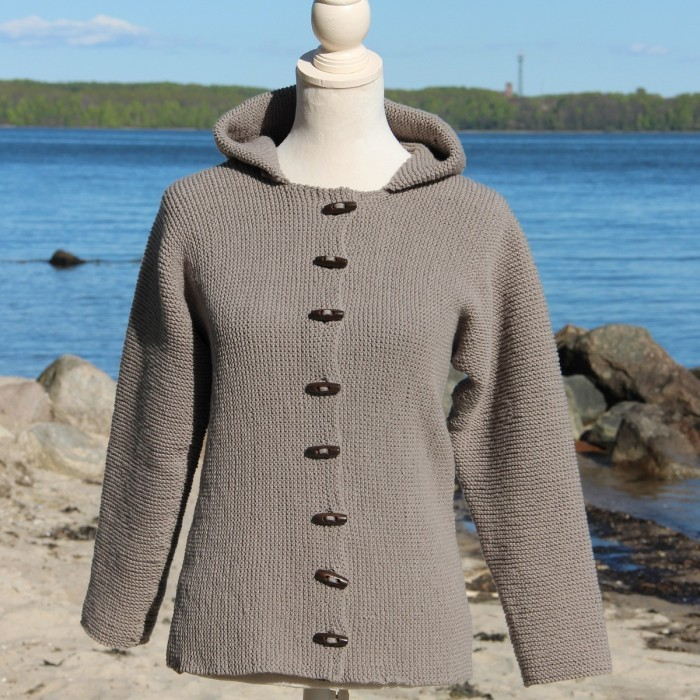 Hooded Jacket - Women & Plus Size Patterns Go Handmade