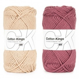 Cotton 8/8 Garn Cotton Kings