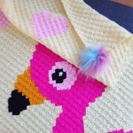 Flamingo Love - Plaid Patronen