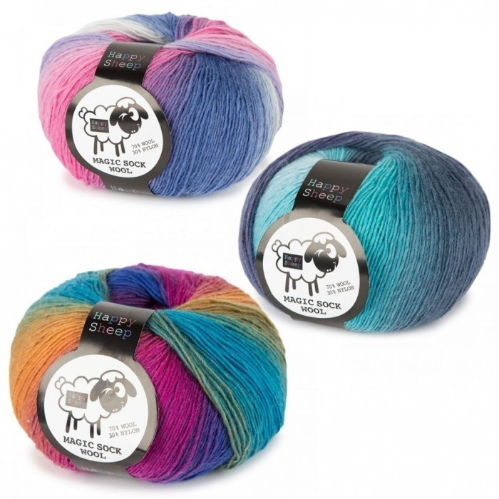 Magic Sock Wool Garn & Wolle Happy Sheep