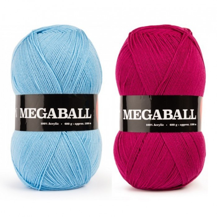 Mega Ball 400 g / 14.11 oz. Yarn We Love Yarn