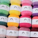 Rainbow Lace Yarn Hobbii
