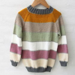 Amy Raglan Sweater - Little One's & Tweens Anleitungen Go Handmade