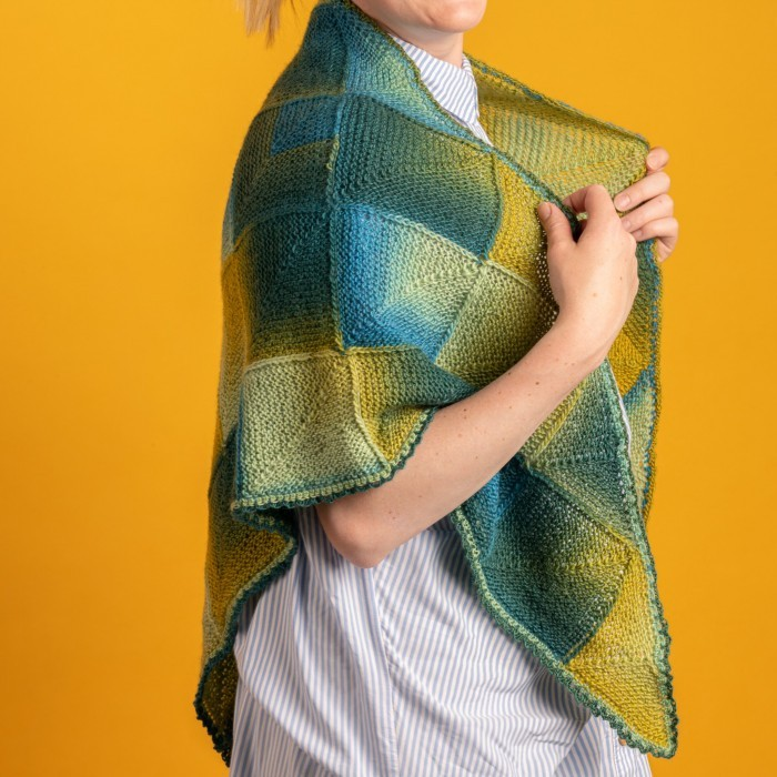 Jade - Domino Shawl Patterns