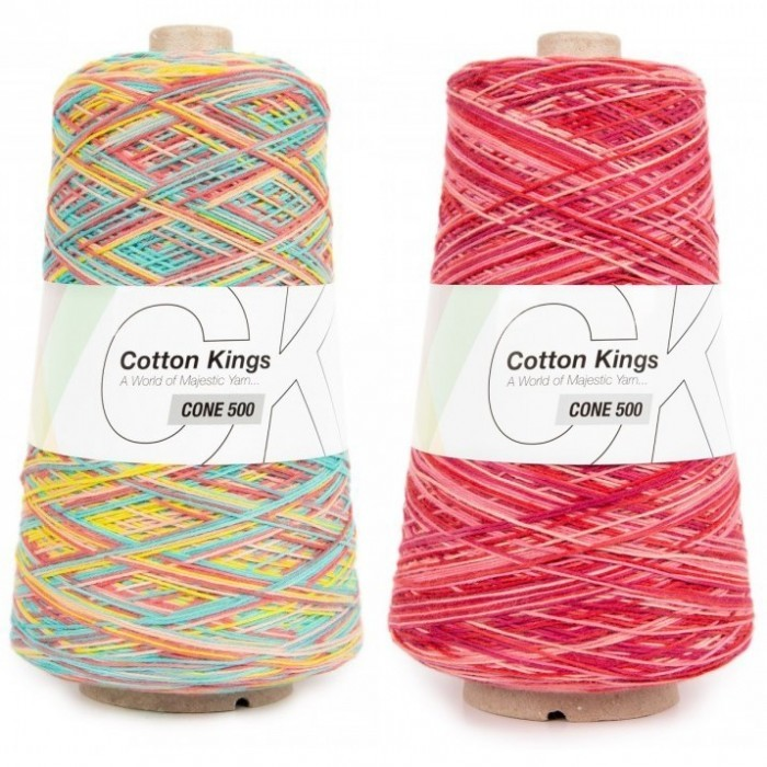 Cone 500 8/4 Print Yarn Cotton Kings