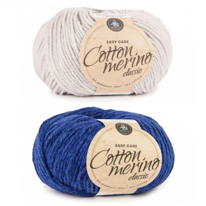 Cotton Merino Classic Garn & Wolle Mayflower