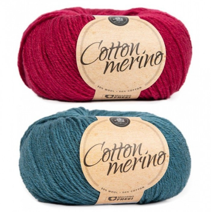 Cotton Merino Garn Mayflower