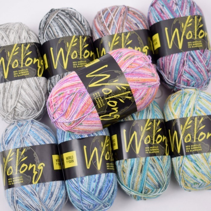 Wolong Strømpegarn Garn World of Yarn
