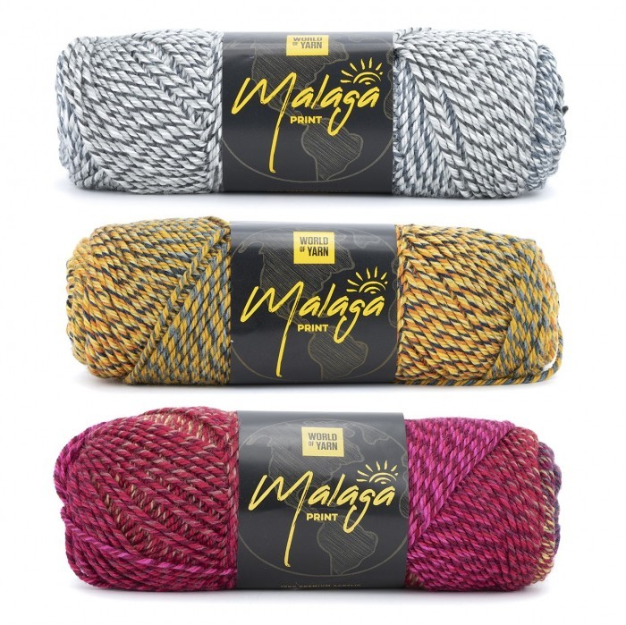 Malaga Print Fils World of Yarn