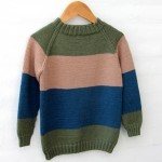 Stripe Raglan Sweater – Little One's & Tweens - Boys Opskrifter Go Handmade