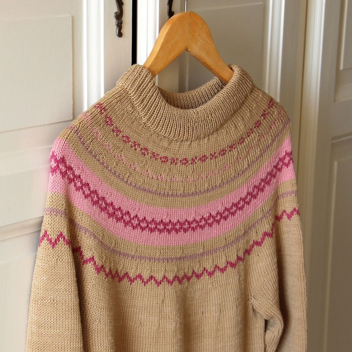Classic Sweater Soft Double - Little One's & Tweens - Girls Mönster Go Handmade