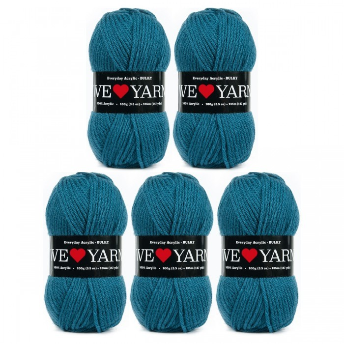 Everyday Acrylic - Bulky (Limited Edition) Garn We Love Yarn