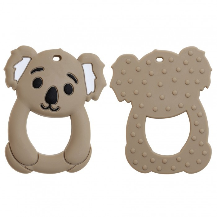 Teether Silicone Animal Accessories Go Handmade