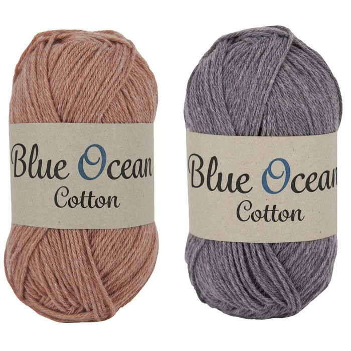 Blue Ocean Cotton Yarn Svarta Fåret
