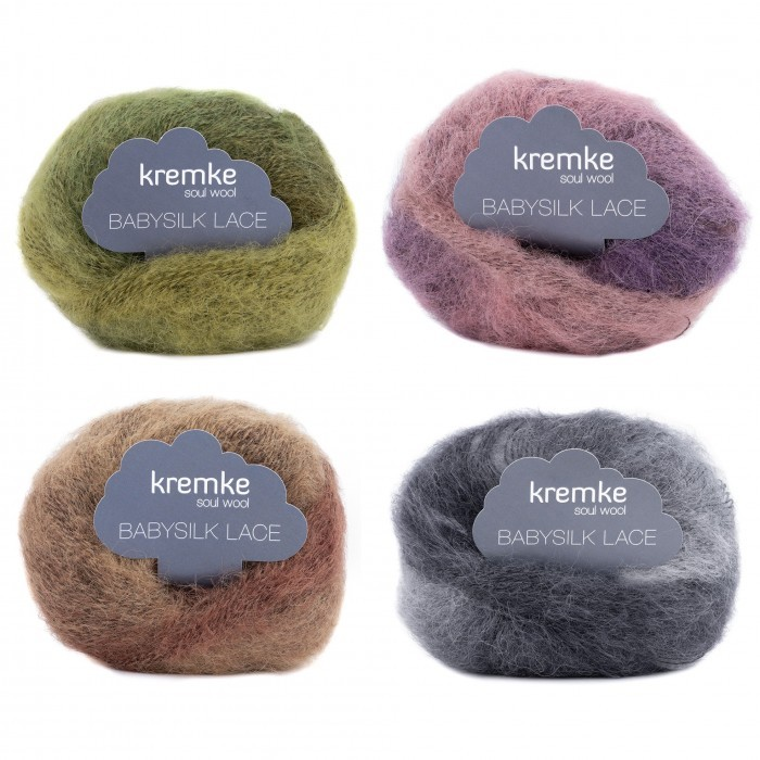 Baby Silk Lace Point Store Kremke Soul Wool