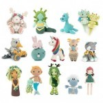 Unicorns, Dragons and More Fantasy Amigurumi 2 Books Meteoor Books
