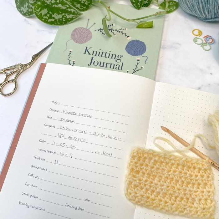 Crochet Journal Accessories Hobbii