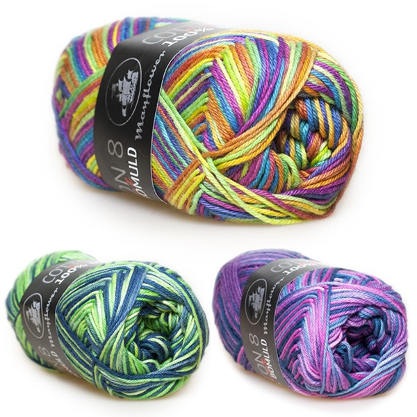 Cotton 8/4 Print Yarn Mayflower