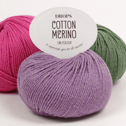 Cotton Merino Garn Drops