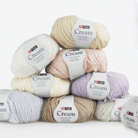 Cream Melkegarn Garn Viking