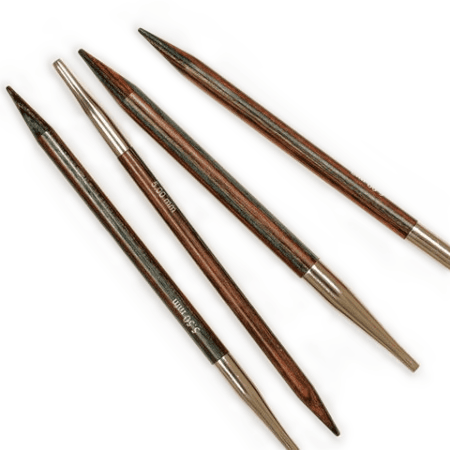Interchangeable Circular Needles In Birch Knitting Needles Drops