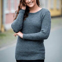 1512 - Sweater i Mayflower Easy Care Classic Mönster