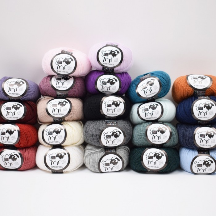 BabyWool Yarn Happy Sheep