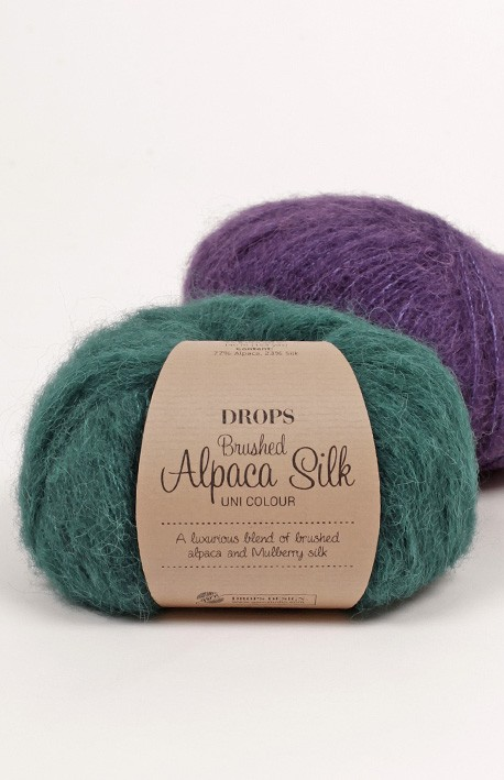Brushed Alpaca Silk Garn Drops