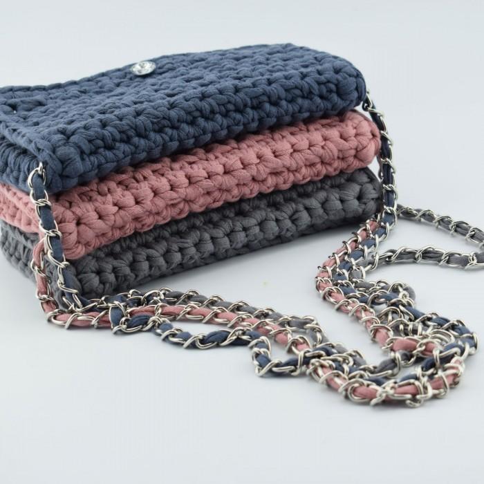 Ribbon Clutch Handtasche Anleitungen Hobbii Hobbiide
