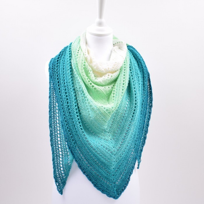 Classical Attitude Shawl - Twirls Deluxe Patterns