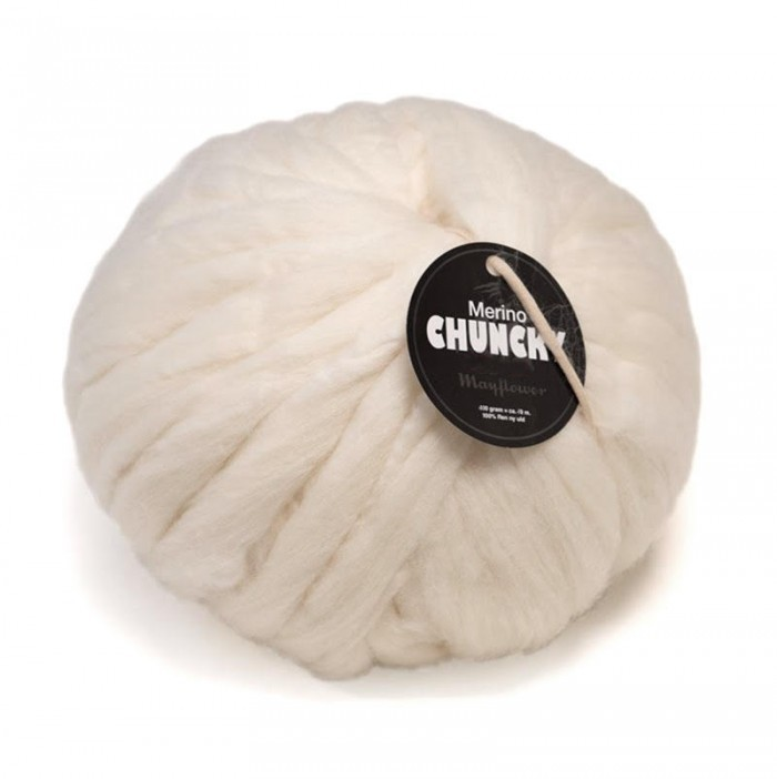 Merino Chuncky 400g Yarn Mayflower
