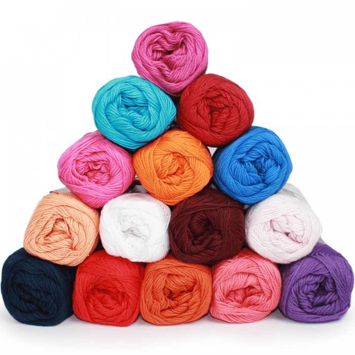 Yarn Pack – Cotton 8/4 – Circus – 15 colors Yarn Mayflower