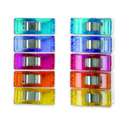 Clover Wonder Clips - 10 pcs. - Assorted colours Accessories Clover